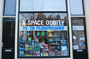 A Space Oddity shopfront