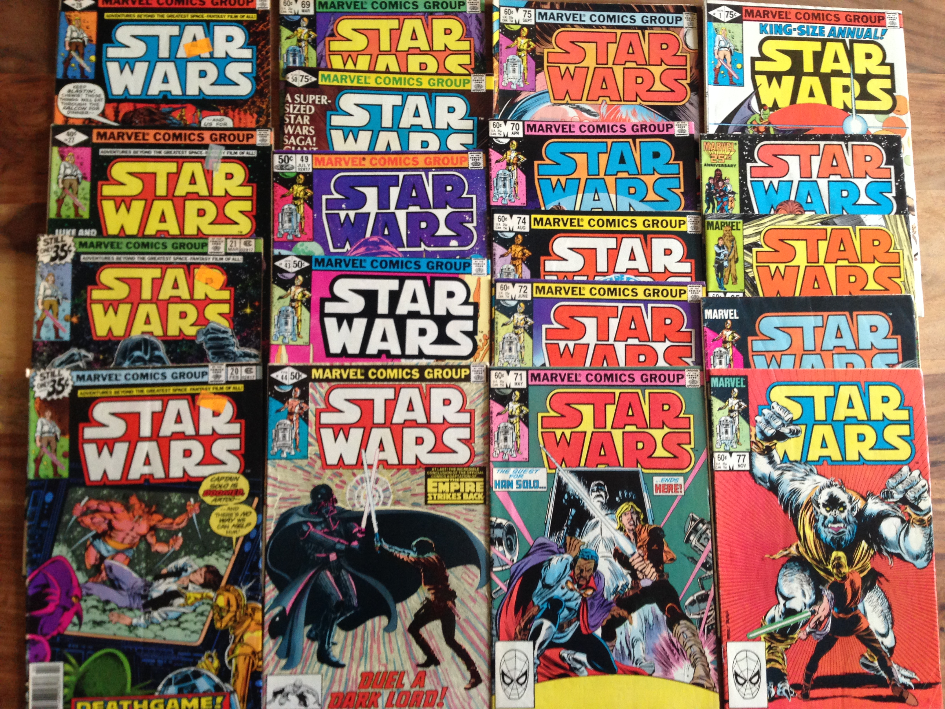 how much is my star wars comic book worth