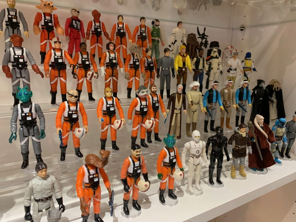 10 Brand New Pro Display Stands for Vintage Star Wars 1977-1985 /& other figures
